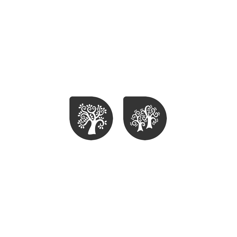 Pochoirs – Arbres - Lot de 2