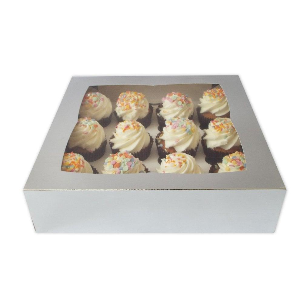Boite à 12 cupcakes - Argent