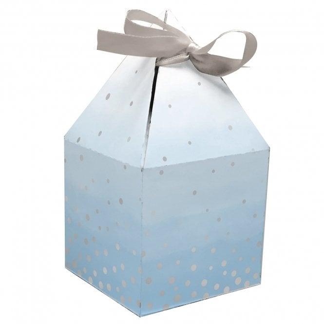 Boites à Cupcake - Bleu - Lot de 8