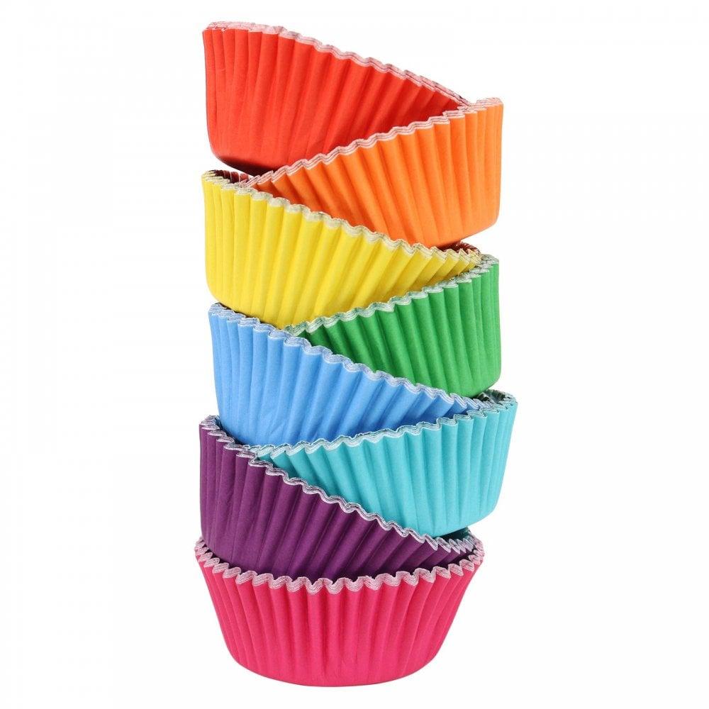 Caissettes à Cupcake - Multicolores - Lot de 100