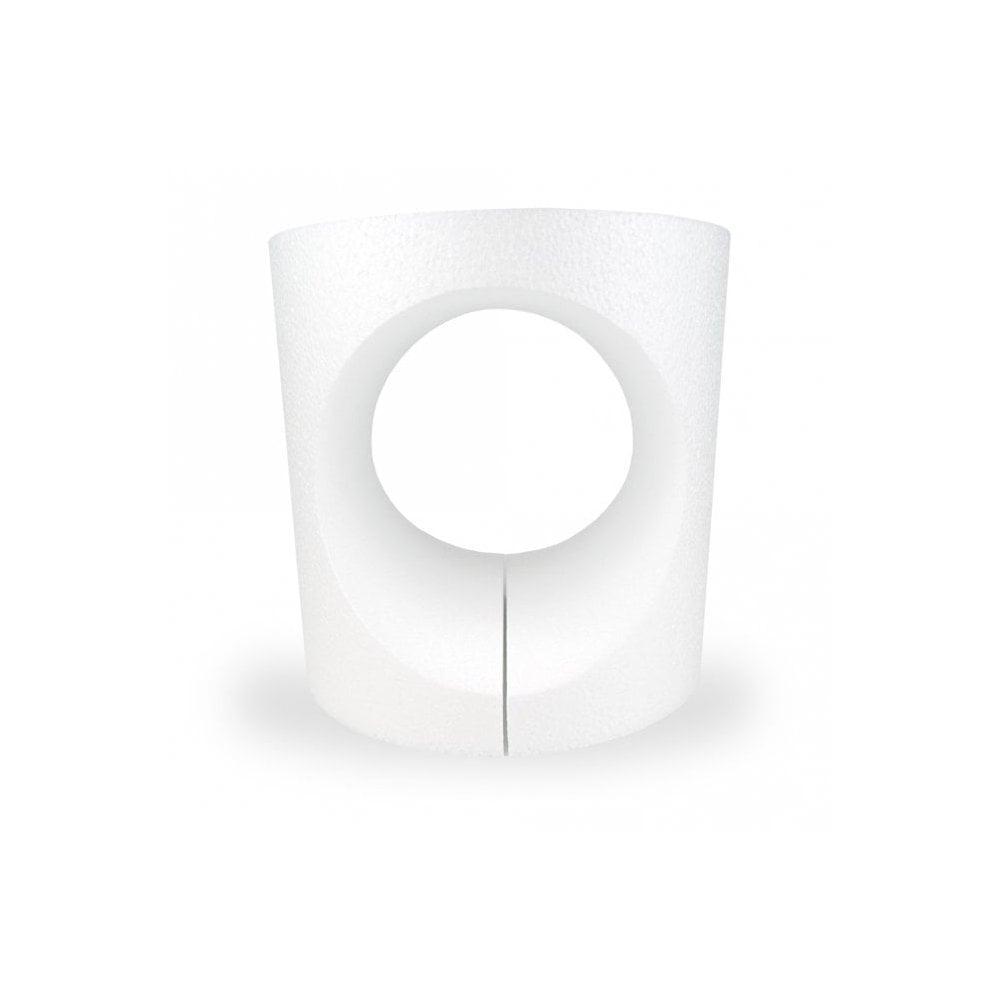 Dummy en polystyrène à ouverture ronde – 15 cm
