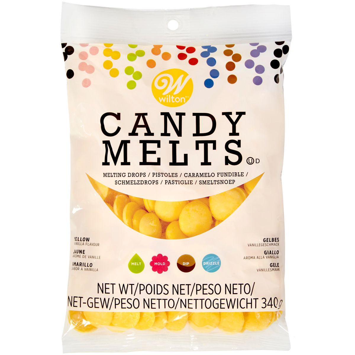Candy Melts 340 g - Jaune