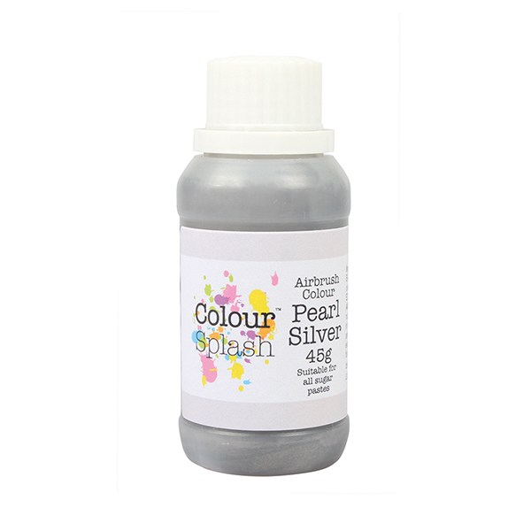 Colorant d\'aérographe 45g - Pearl Silver