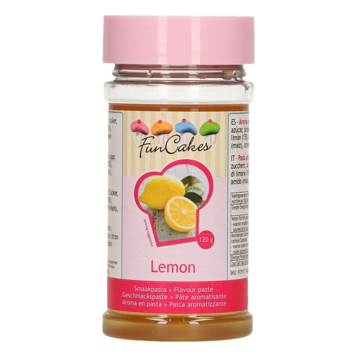 Arôme en pâte - Citron 120 g