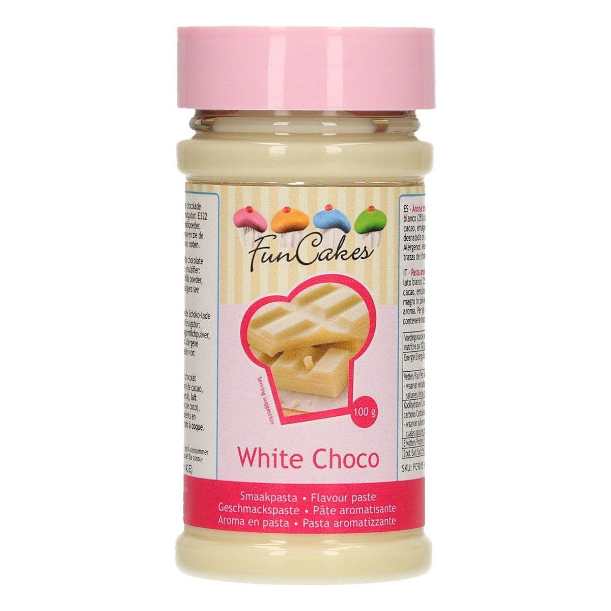 Arôme en pâte - Chocolat Blanc 100 g