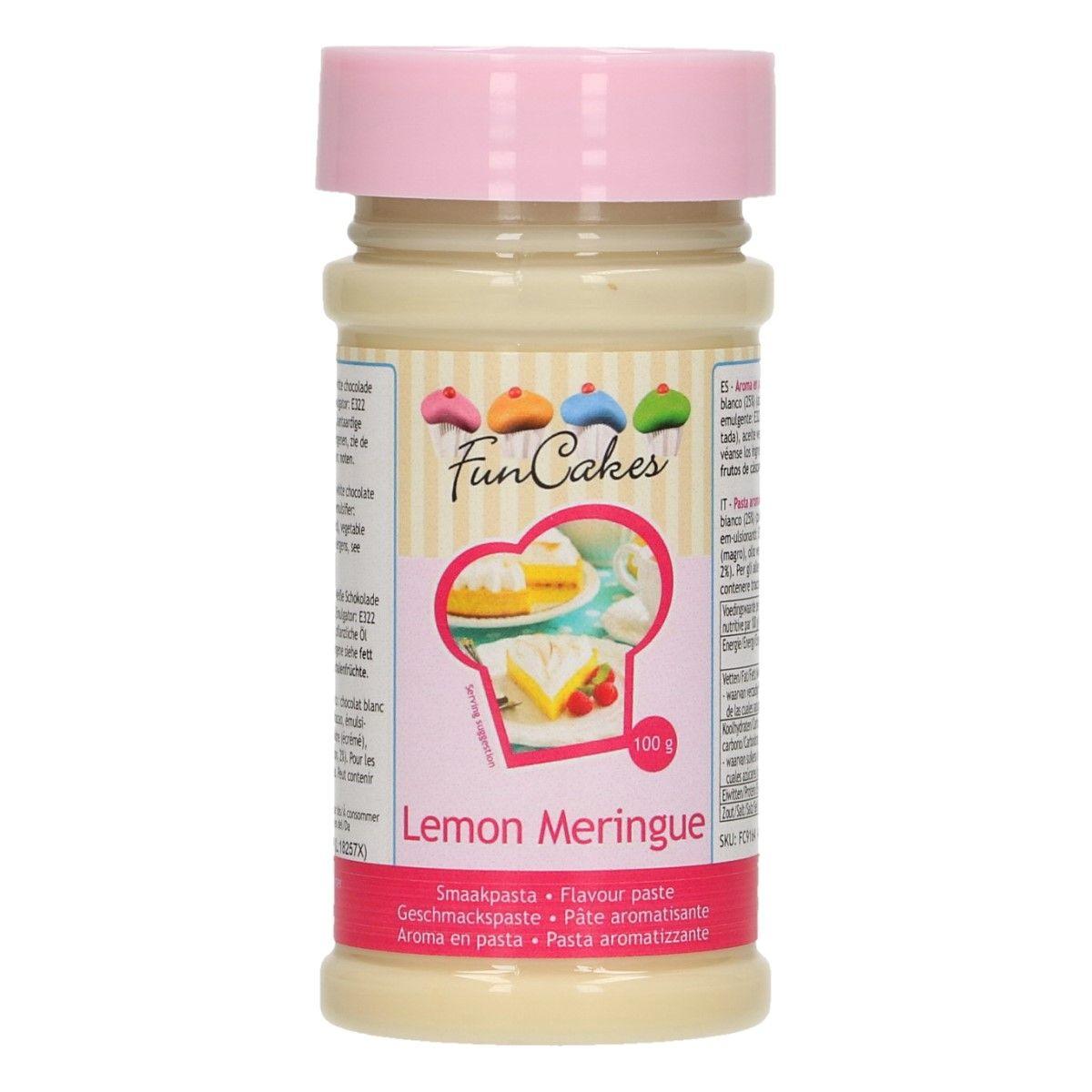 Arôme en pâte - Citron meringué 100 g