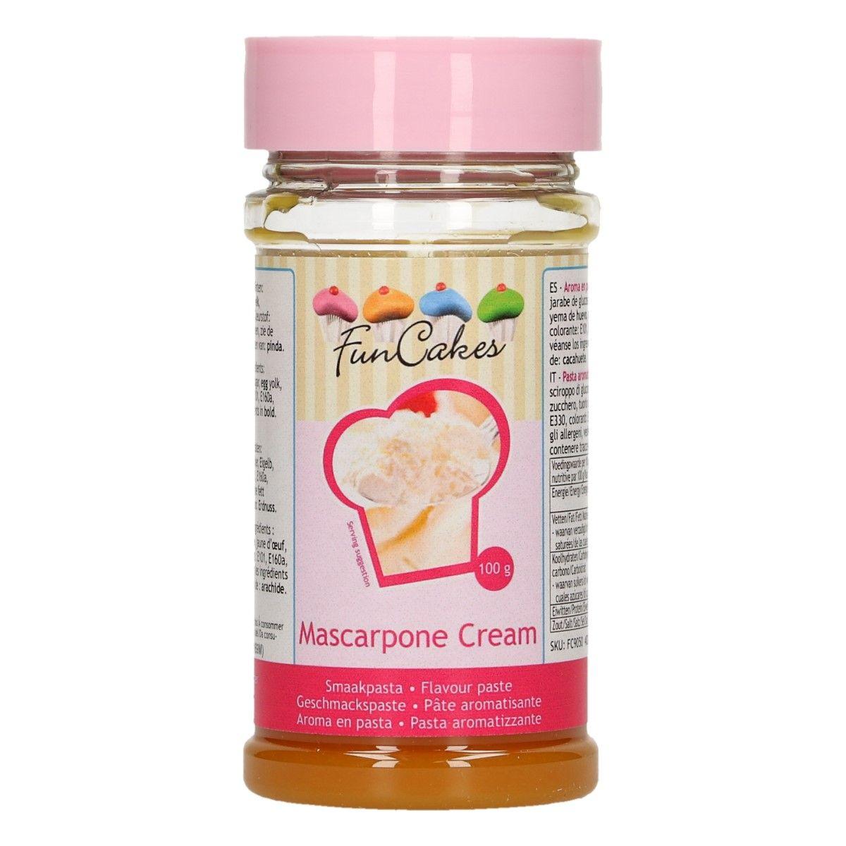 Arôme en pâte - Crème mascarpone 100 g