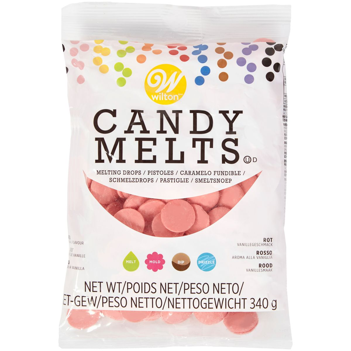 Candy Melts 340 g - Rouge Clair