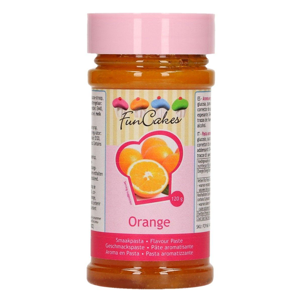 Arôme en pâte - Orange 120 g