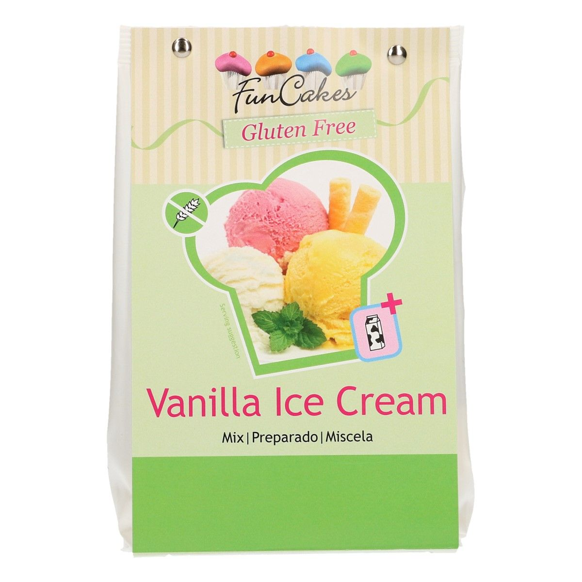 Préparation 200 g Sans Gluten - Glace à la vanille