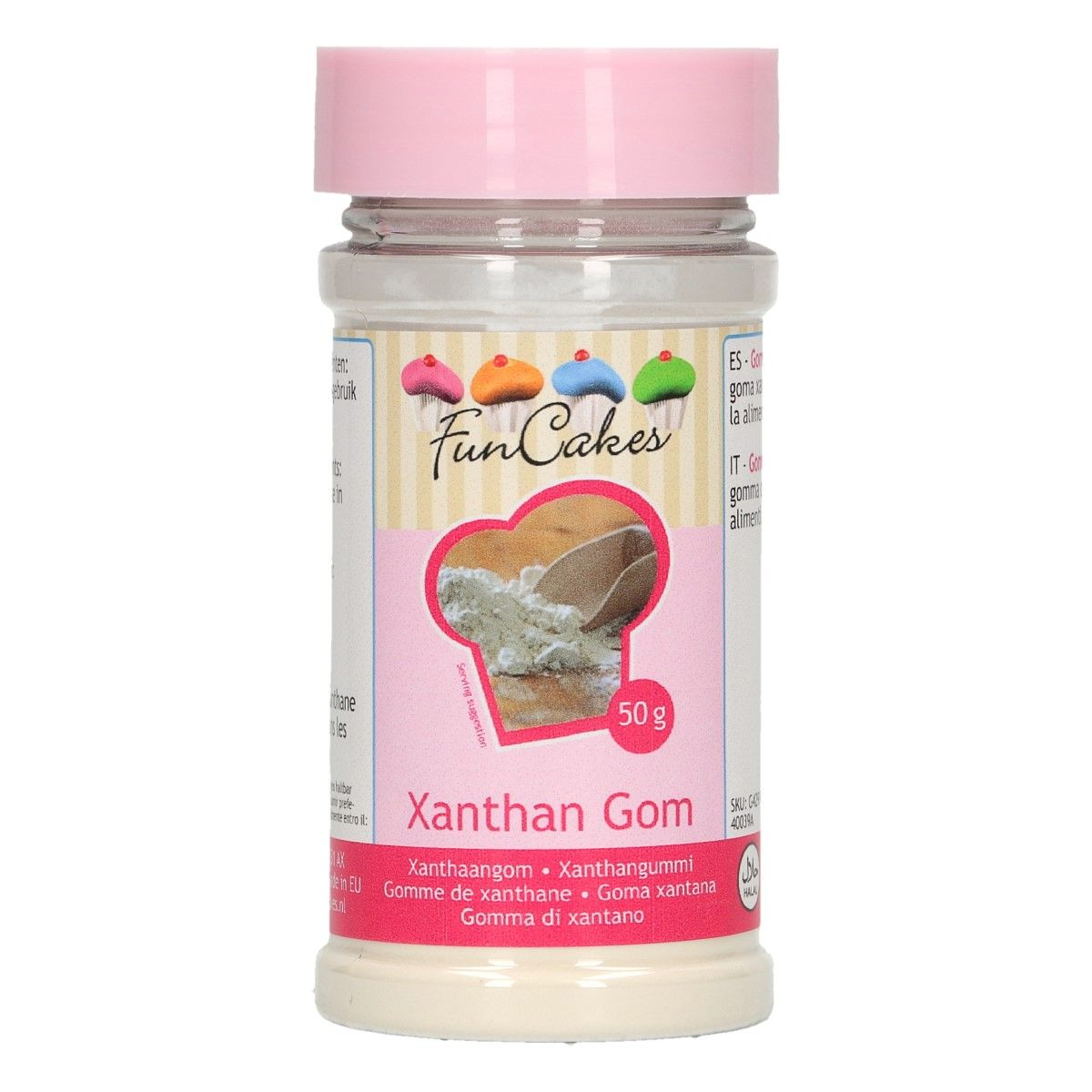 Agent liant 50 g - Gomme Xanthane