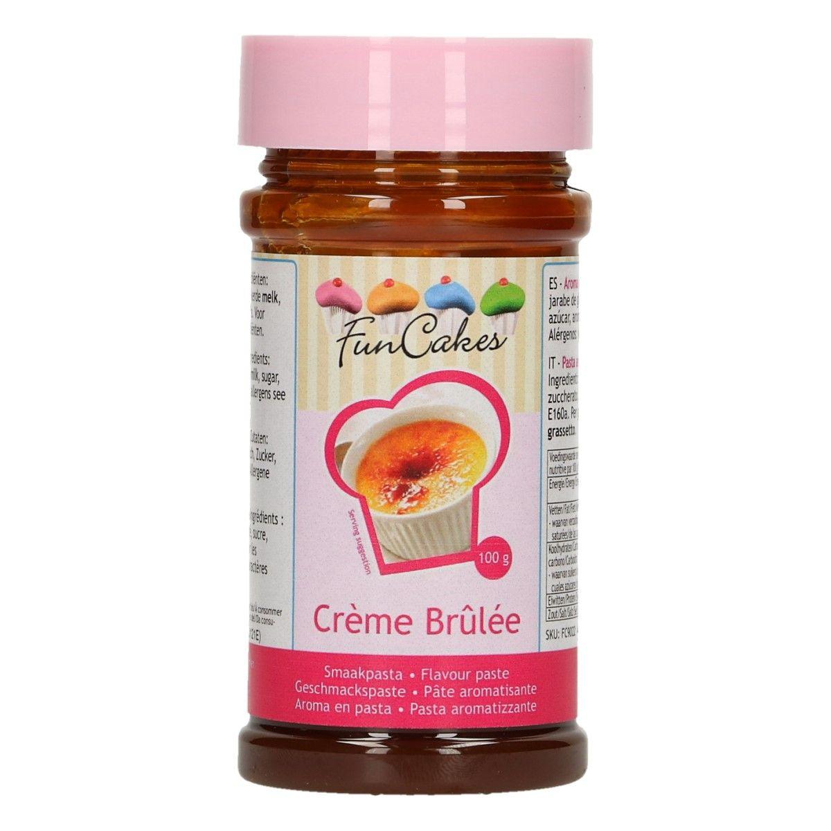 Arôme en pâte - Crème brûlée 100 g