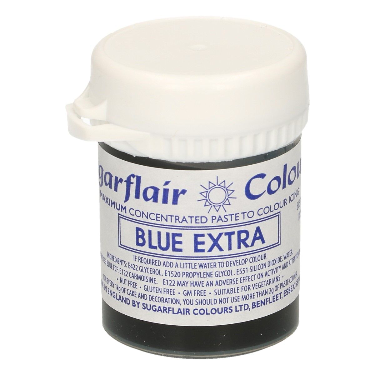 Colorant alimentaire en gel 42 g – Bleu Extra