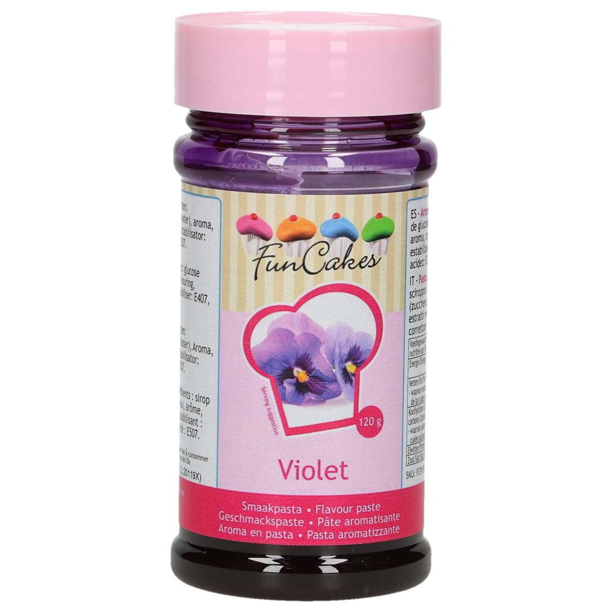 Arôme en pâte - Violet 100 g