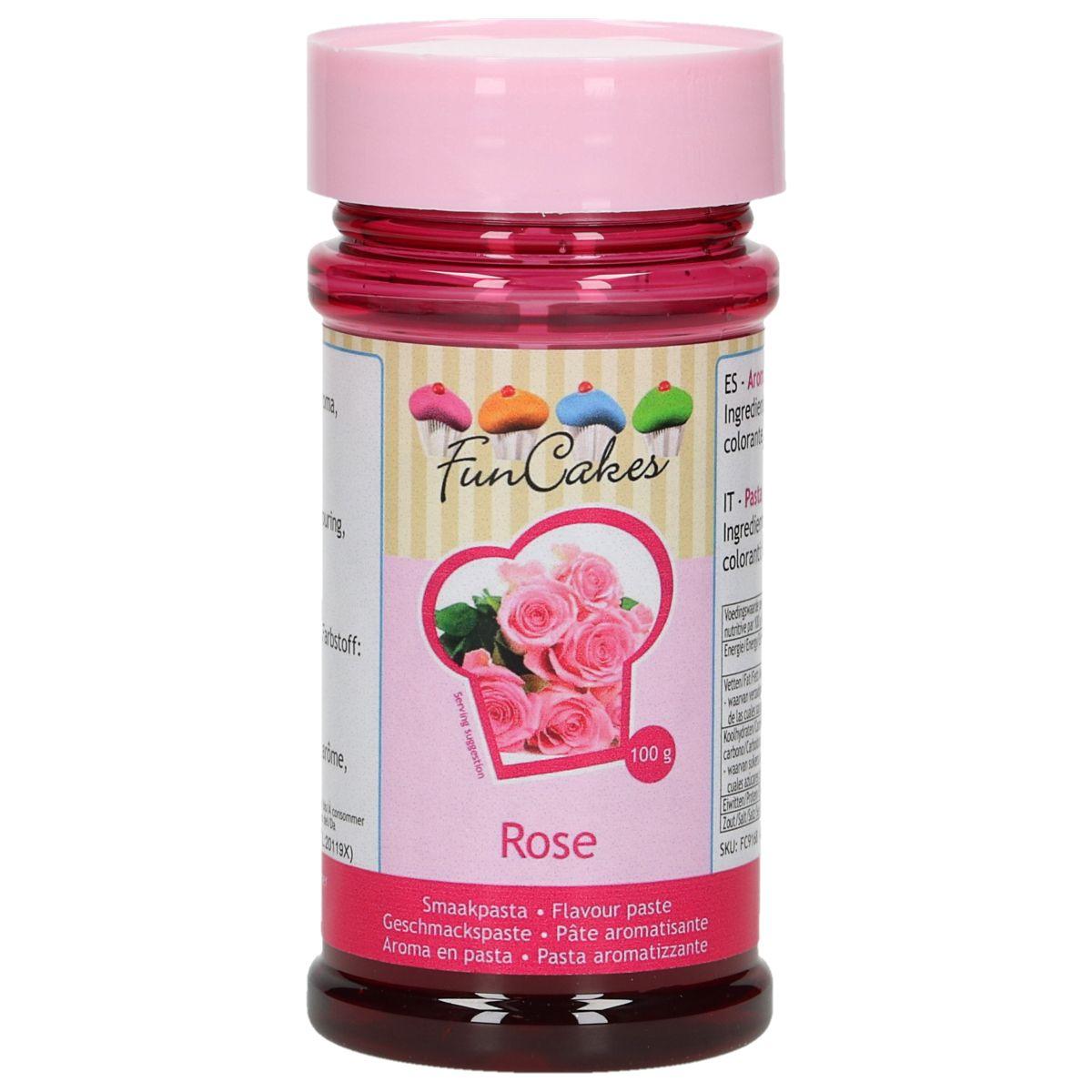 Arôme en pâte - Rose 100 g