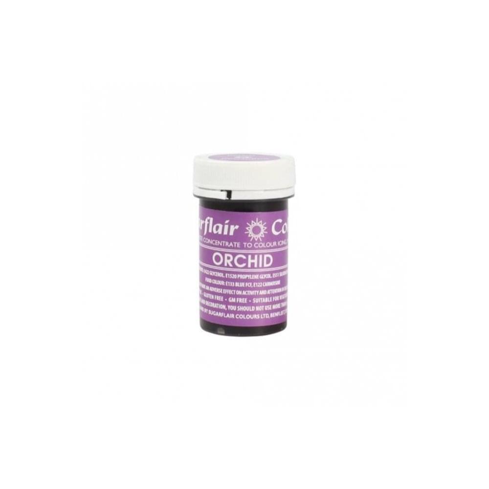 Colorant alimentaire en gel 25 g – Violet Orchidée