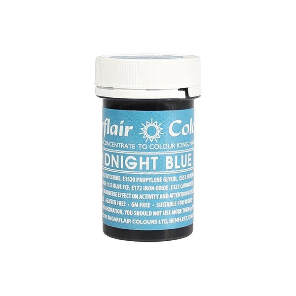 Colorant alimentaire en gel 25 g – Bleu de minuit