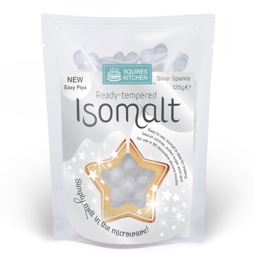 Isomalt pré-tempéré - Argent - 125 g