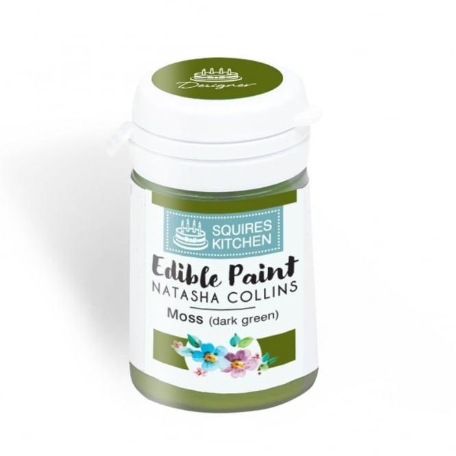 Peinture Alimentaire 20 g - Mousse (vert foncé)