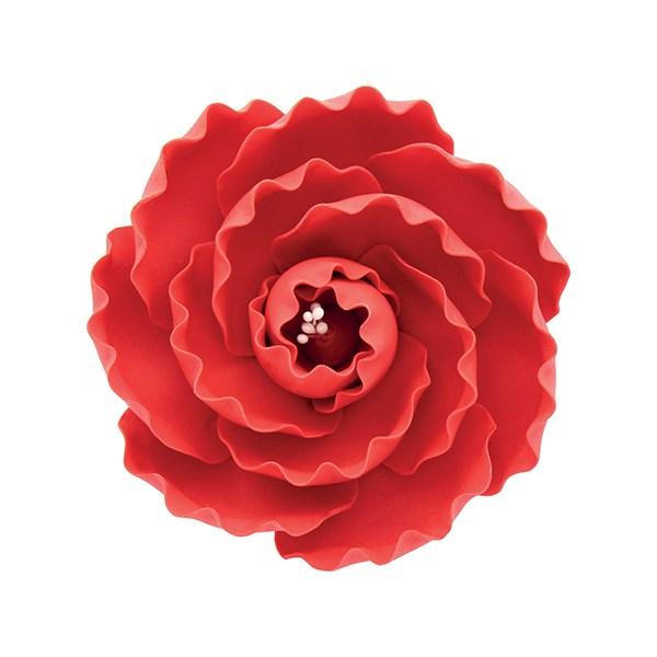 Fleur en sucre - Rose de bruyère - Rouge