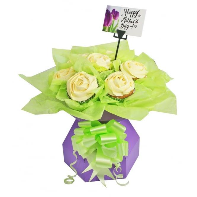 Boîte à bouquet pour cupcake Kit - Lilas