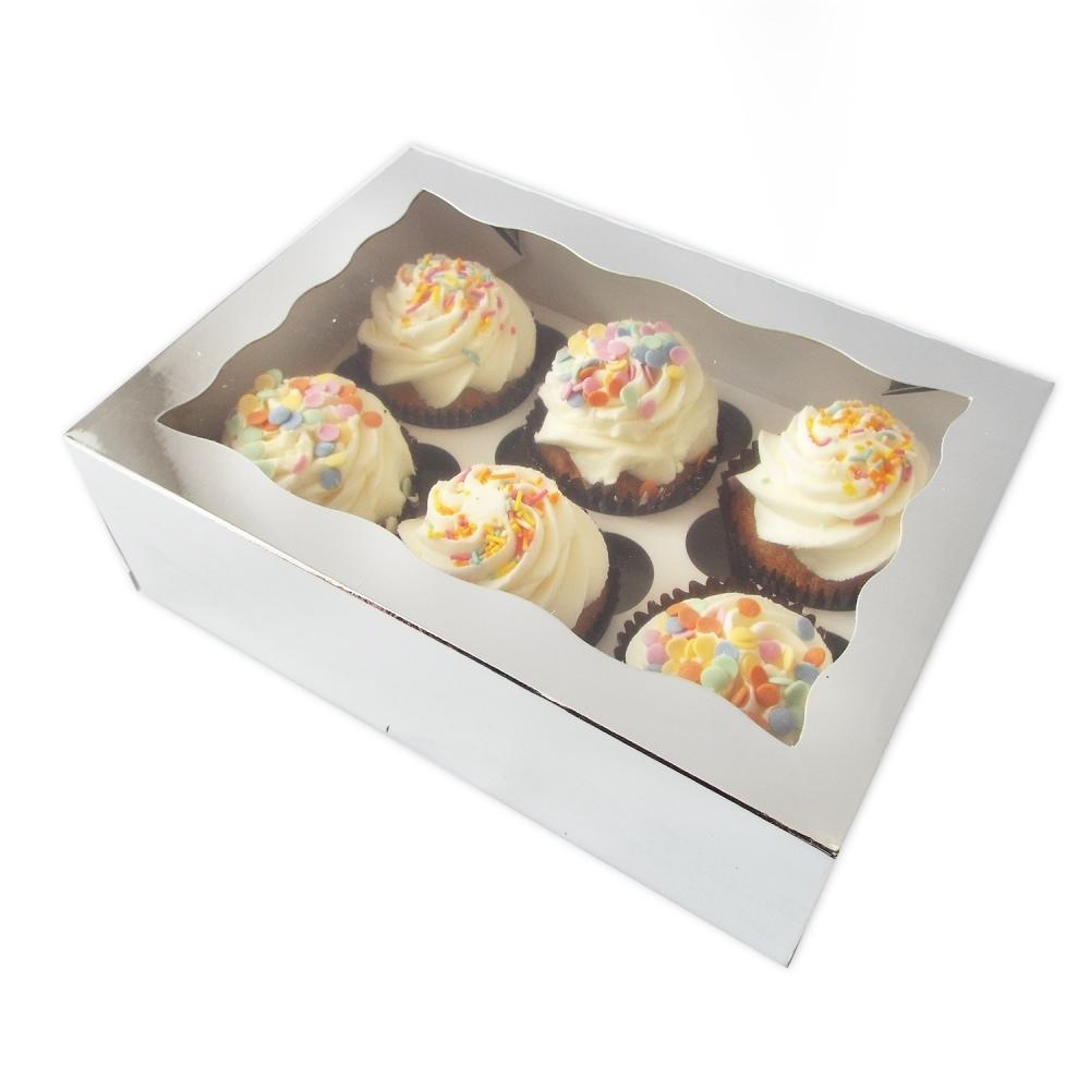 Boîte pour 6 cupcakes – Argent