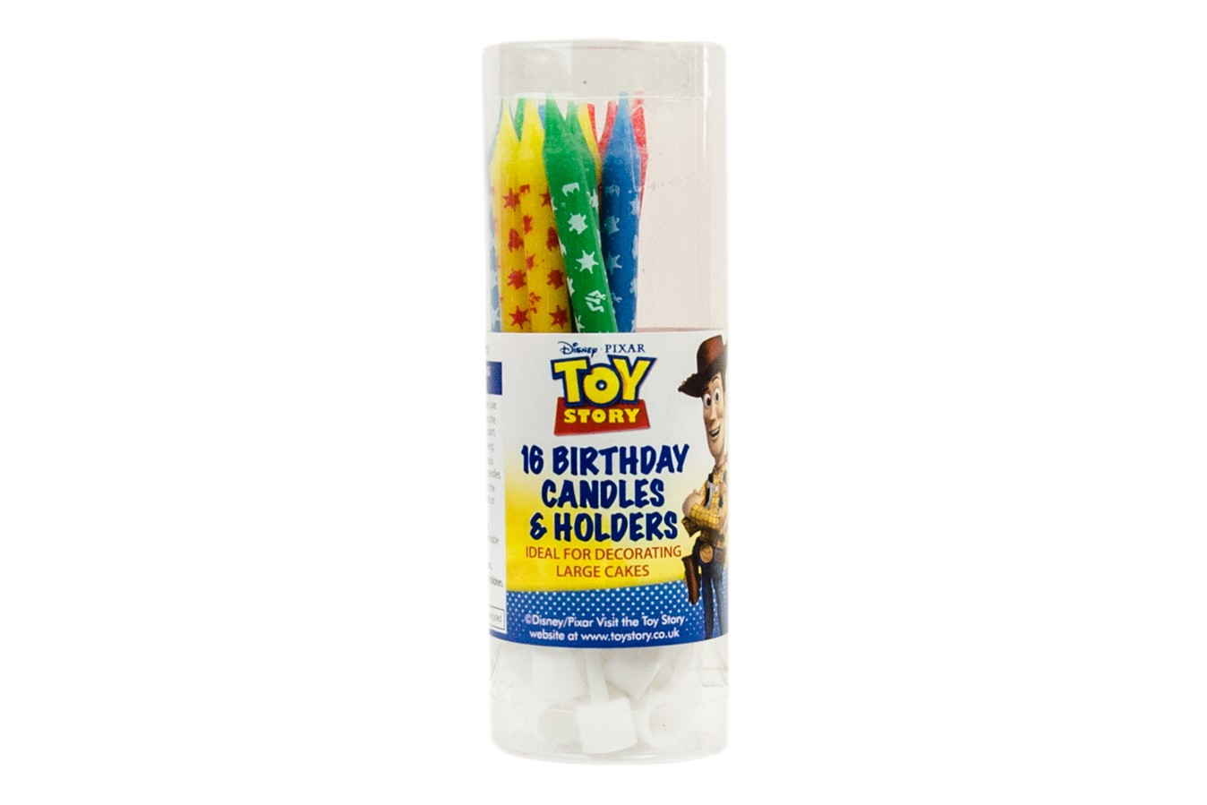 Bougies - Toy Story - Lot de 16