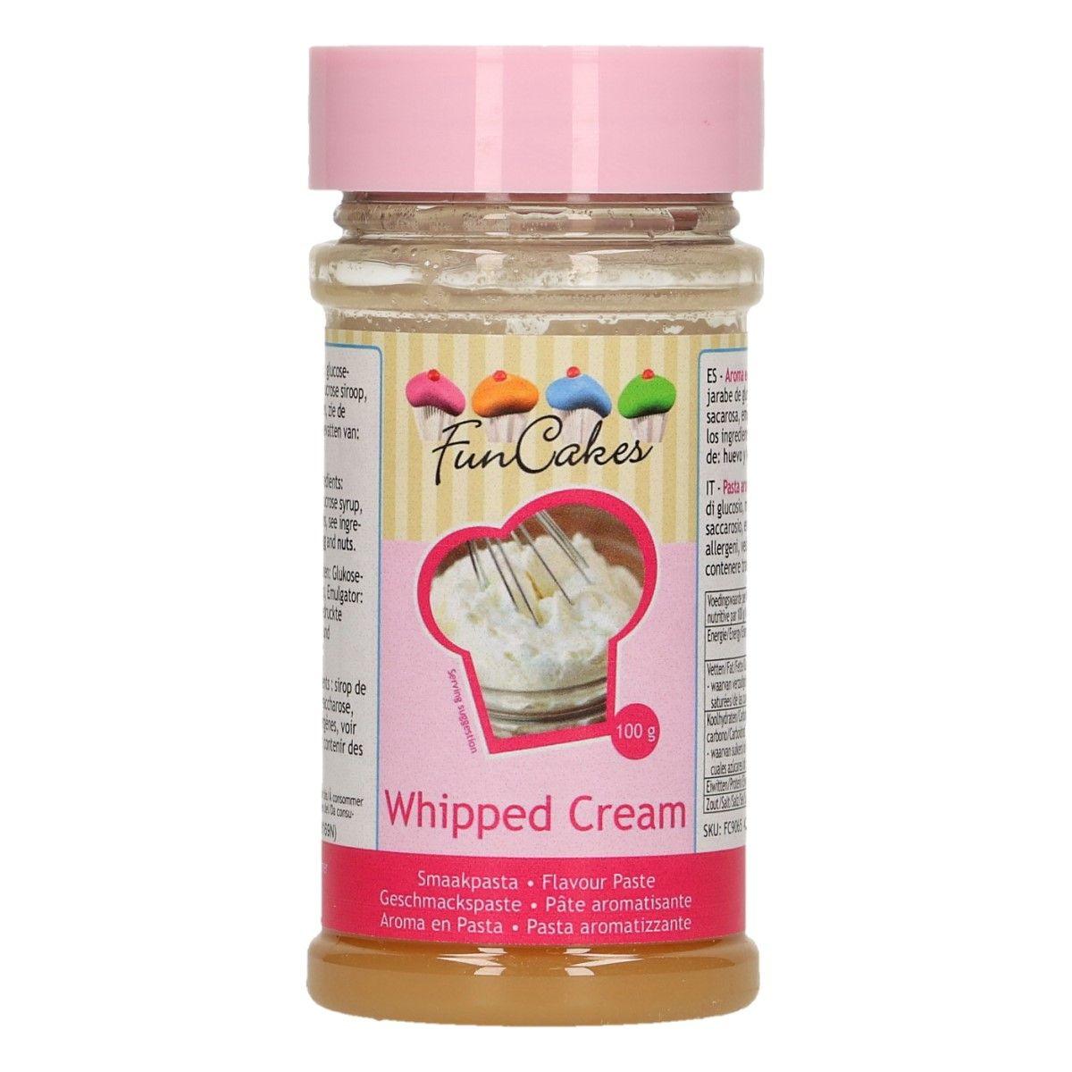 Arôme en pâte - Crème Chantilly 100 g