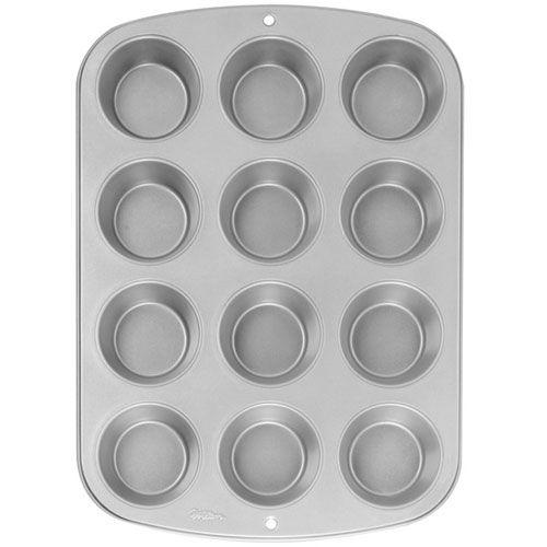 Mini moule à muffins - 12 cavités