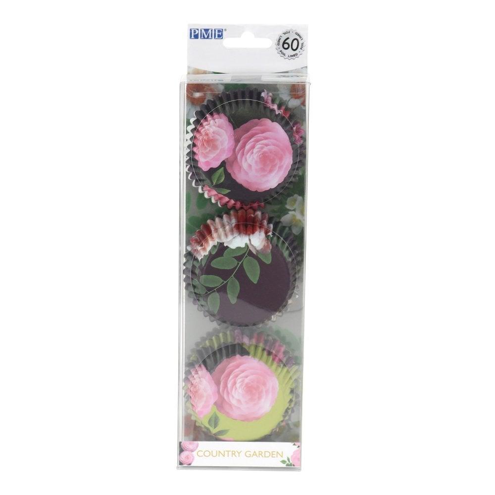 Caissettes à Cupcake - Floral - Lot de 60