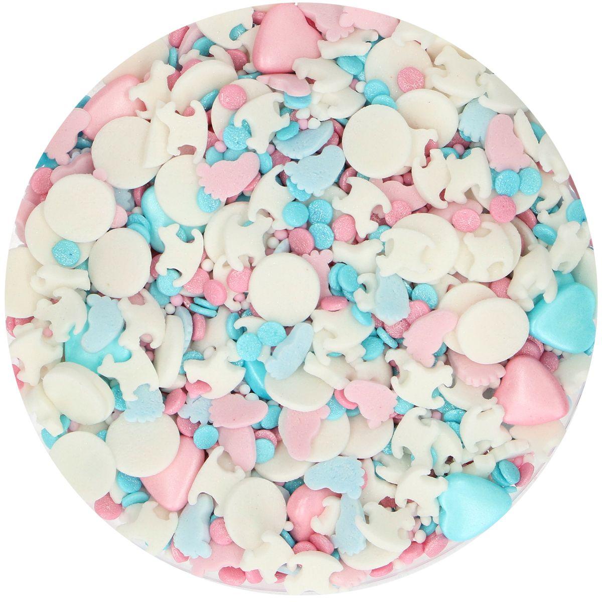 Mix de sprinkles 65 g - Révélation de genre