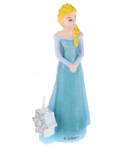Bougie 3D Elsa La reine des neiges