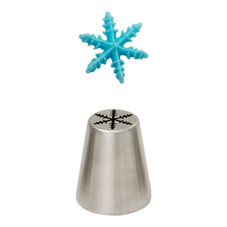 Douille pâtissière - Flocon de neige