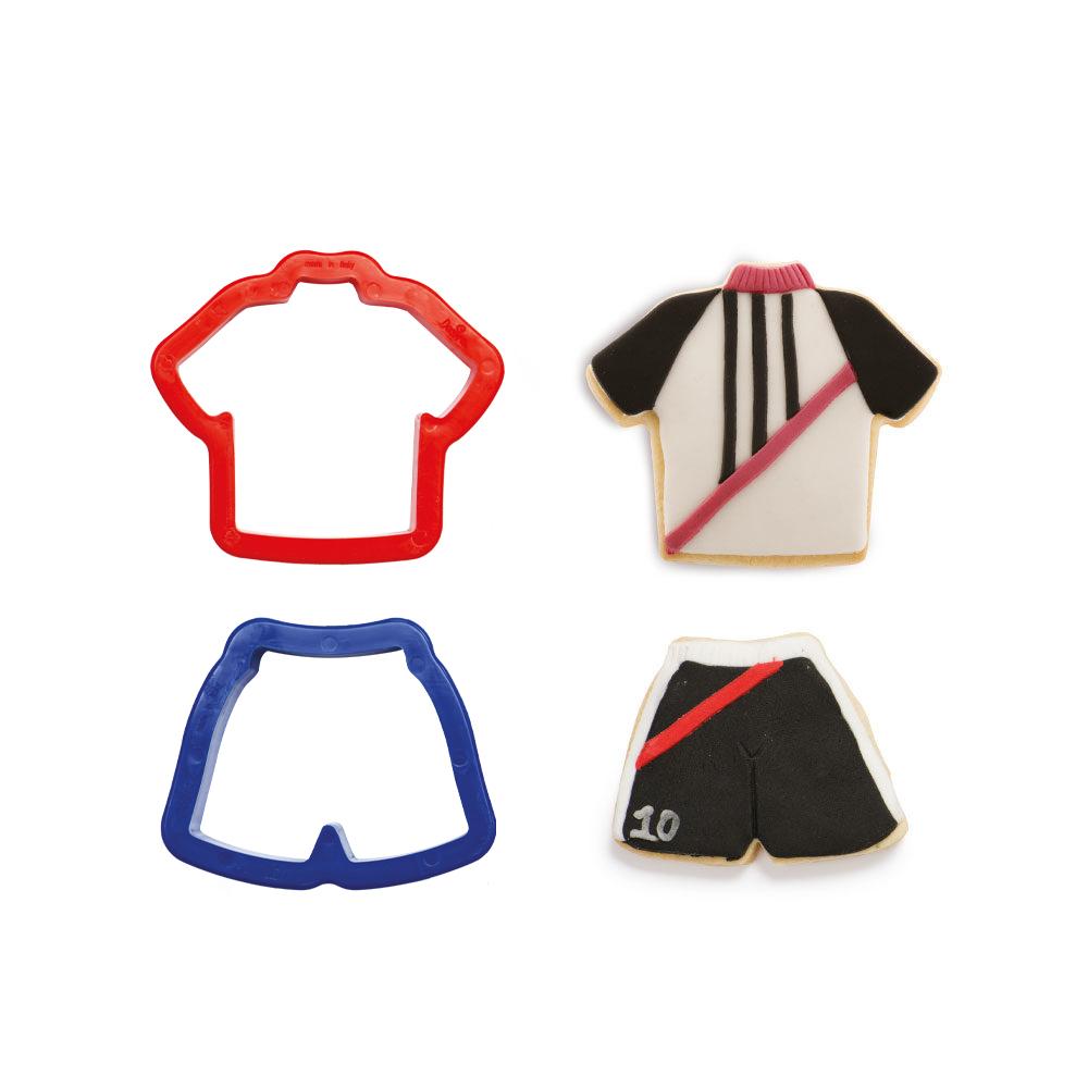 Découpoir - T Shirt et Short - Lot de 2