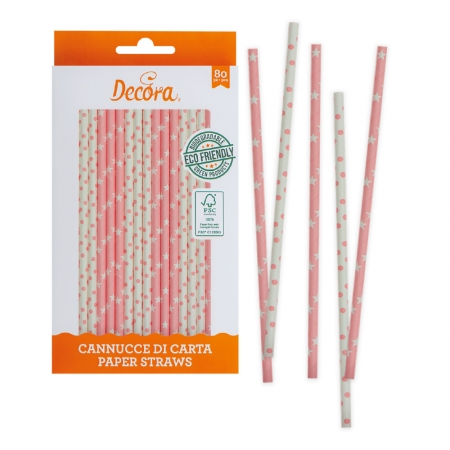 Bâtonnets à Cake Pop - Rose - Lot de 80