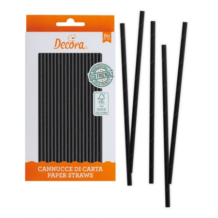 Bâtonnets à Cake Pop - Noir - Lot de 80