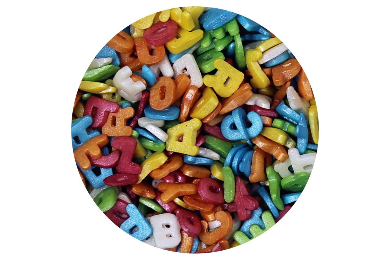 Confetti - Lettres Multicolores