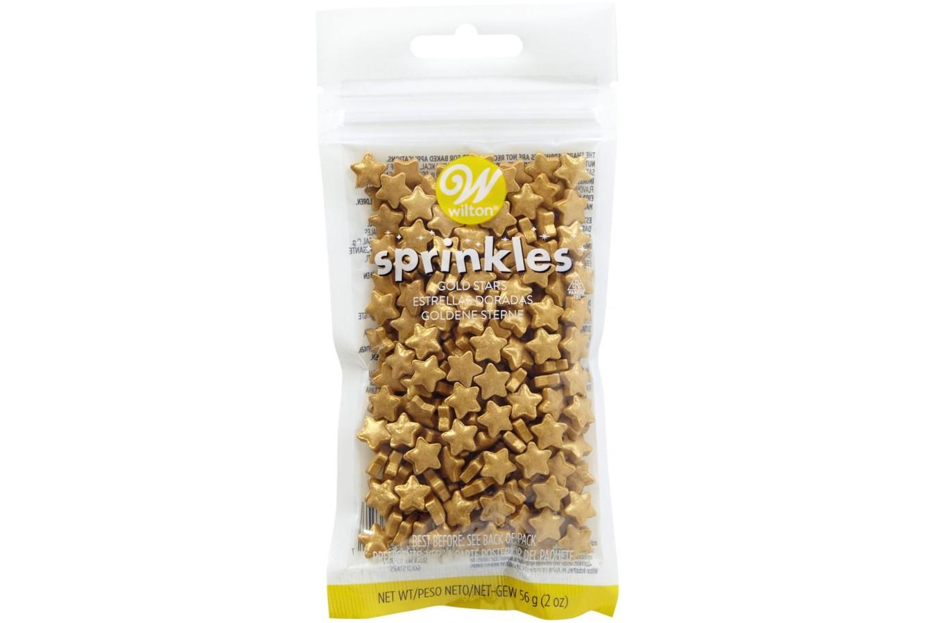 Sprinkles 56 g - Etoile en Or