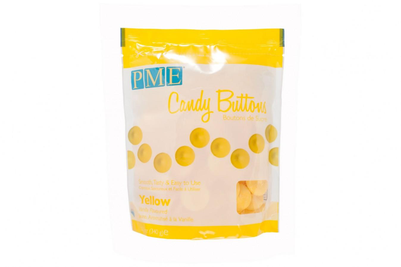 Candy Buttons 340 g – Jaune