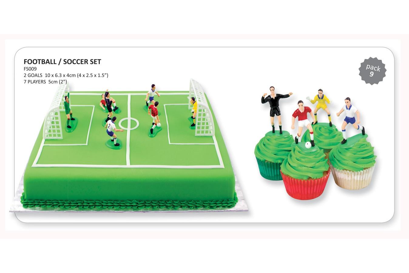 Set de football - Cages et joueurs