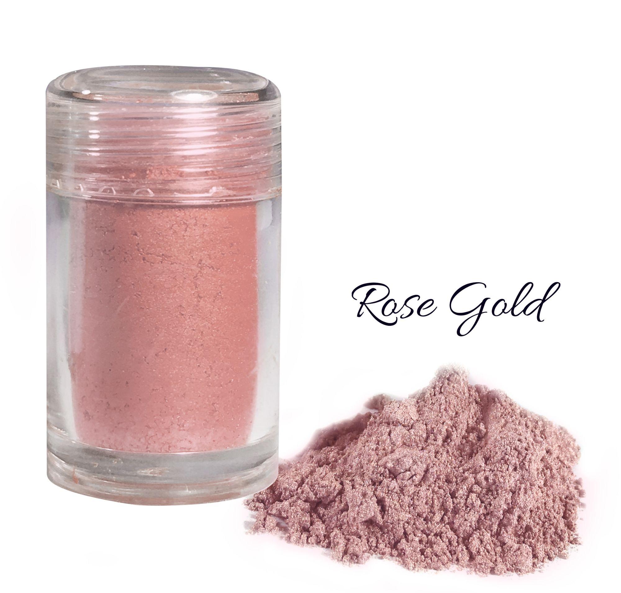 Colorant alimentaire en poudre 7 g - Or Rosé