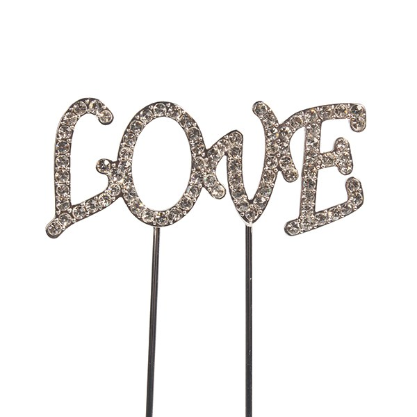 Topper en Diamant: Love