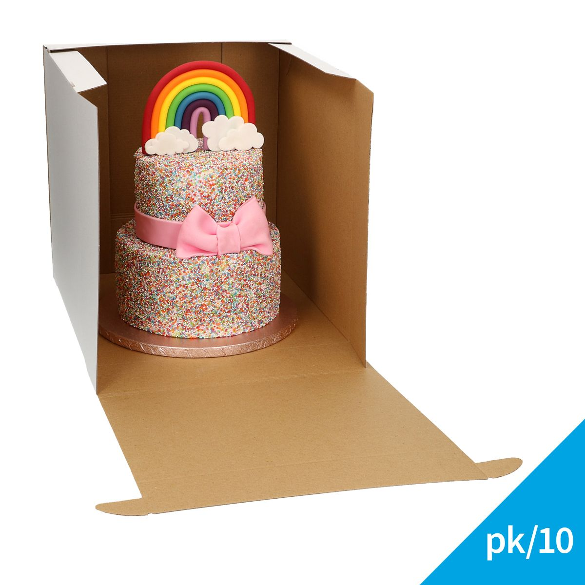 Boite à gâteau Solide XL - 32 x 32 Cm
