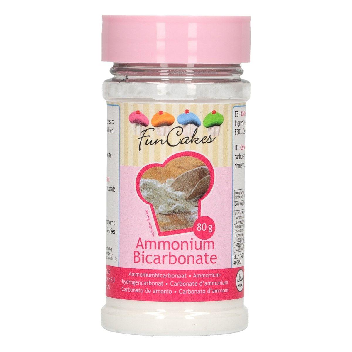 Carbonate d\'ammonium - 80 g