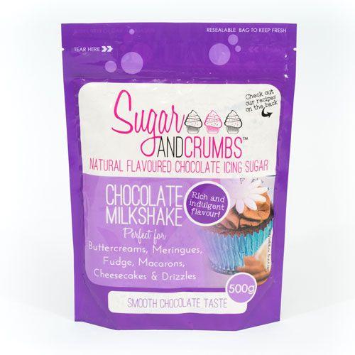 Sucre glace Naturel aromatisé 500g - Chocolate Milkshake