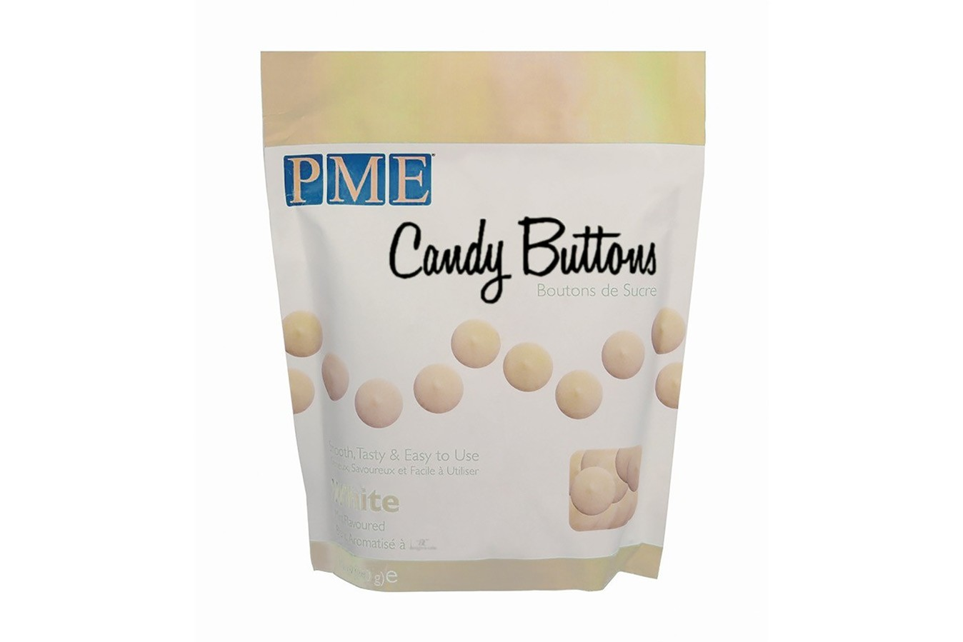 Candy Buttons 340 g - Blanc