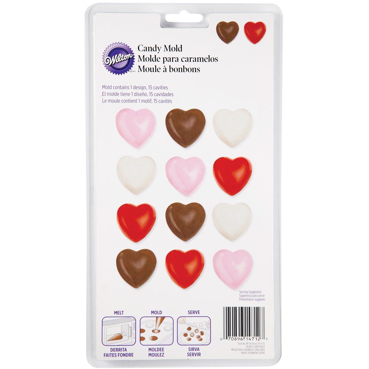 Moule pour chocolat - Coeur