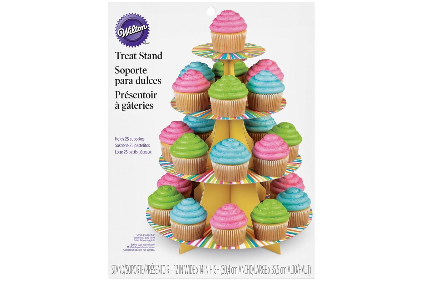 Présentoir à Cupcakes - Multicolore