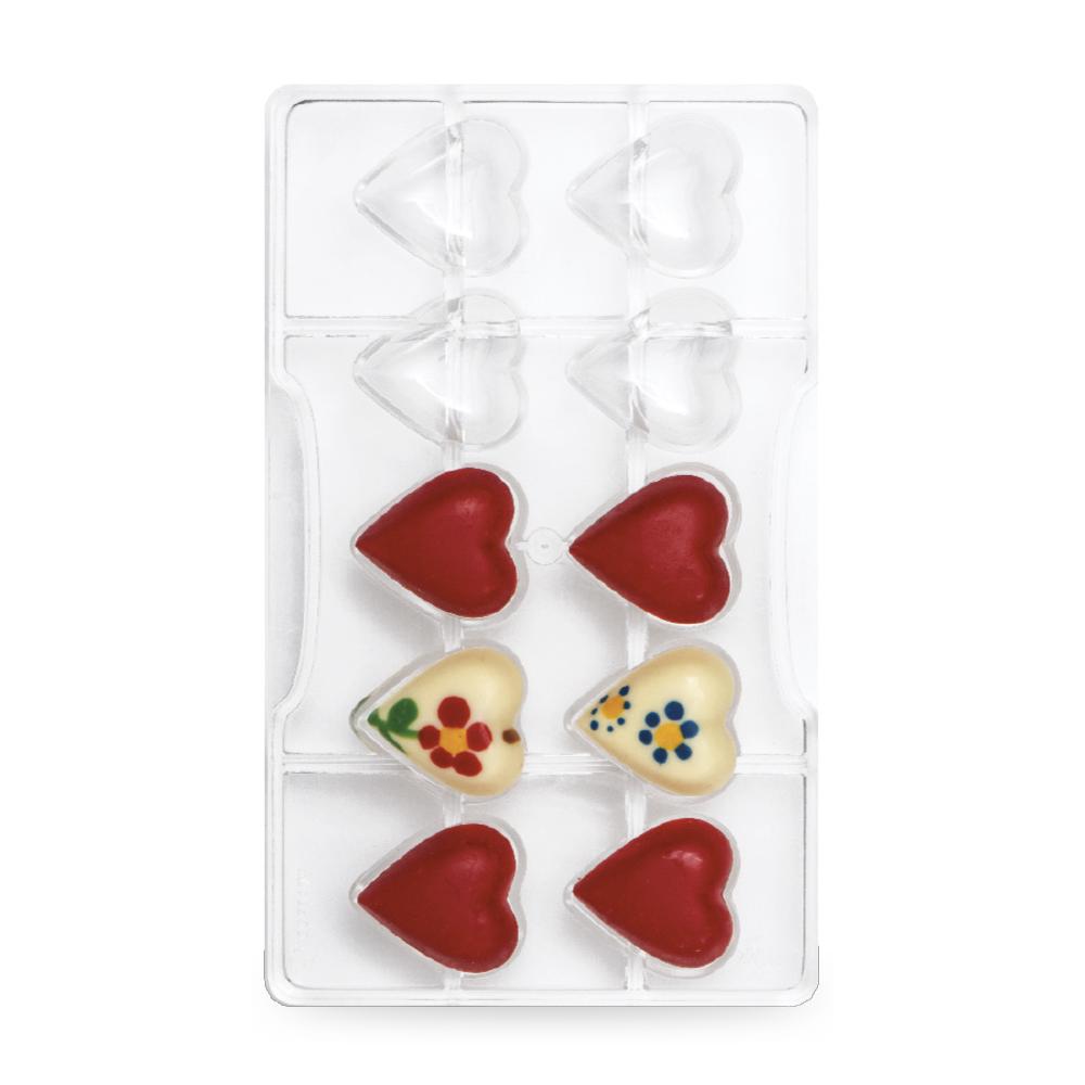 Moule pour chocolat - Coeur solide