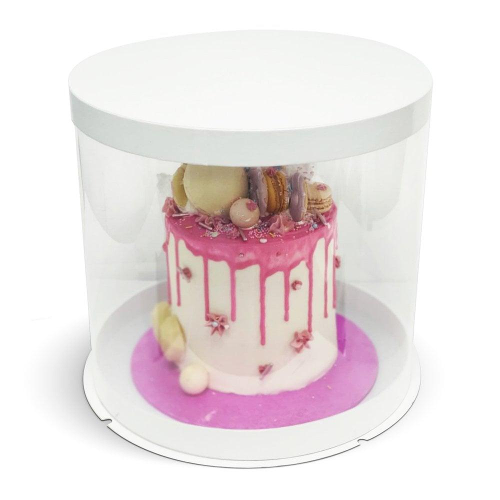 Boite a Gâteaux Rond - Transparent - 30 cm